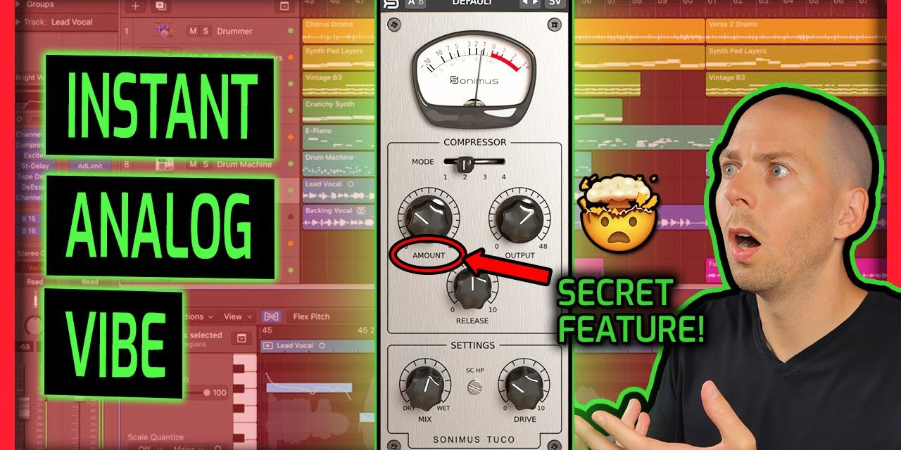 Sonimus Tuco Compressor Plugin Review (+ Discount!) | Best Settings on Rock and Metal Drums and Bass