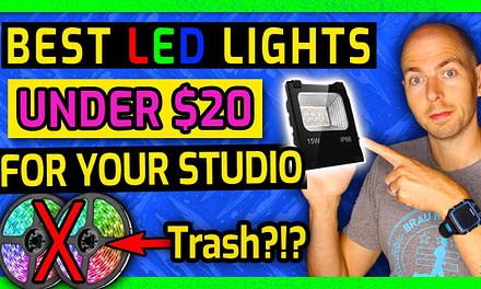 Best Cheap LED Flood Lighting for Home Recording Studio
