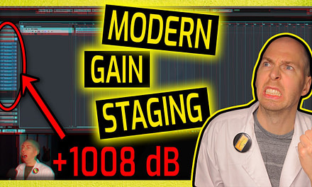 Modern GAIN STAGING for Home Studios (EXPLAINED!)