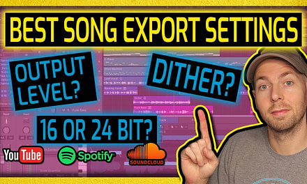 Best Song Export Settings EXPLAINED (2021) | Volume, Dither, Bit Depth