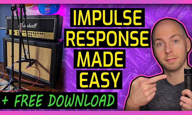 EASY WAY to Make a Guitar Cabinet Impulse Response + FREE DOWNLOAD