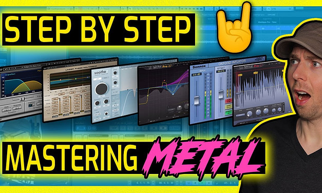 How To Master Metal In a Home Studio Using Plugins [Start To Finish]