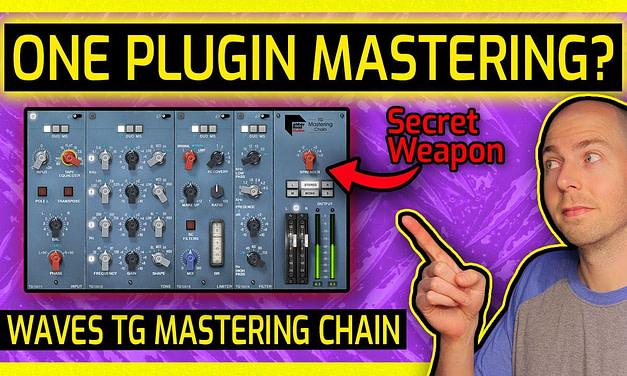Mastering Metal & Hard Rock With 1 Plugin   Waves TG Mastering Chain