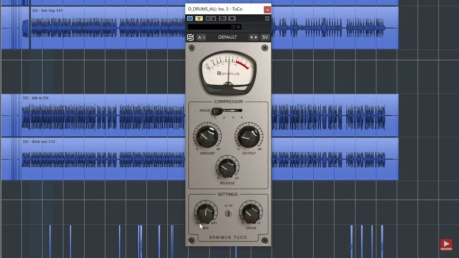Sonimus TuCo Compressor Plugin - Review + Best Settings for Rock